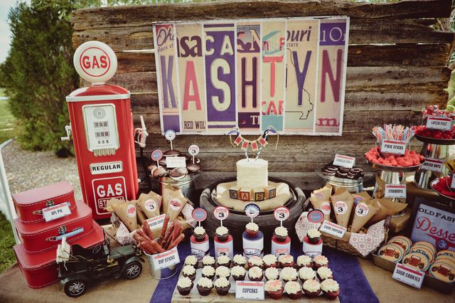 Vintage Car S Birthday Party Ideas Pump Birthdays And