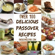 Stumped with Passover menu planning? Here's your ultimate passover resource: over 100 delicious passover recipes!