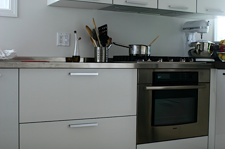 Modern Kitchen White Gloss Lacquered photo - 3