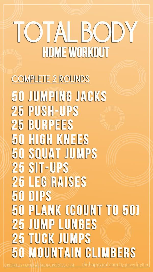 Show your body some love and start your day in our comfy living rooms with this total body workout.