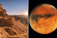 Life on Mars aliens exist NASA Atacama Desert Chile space