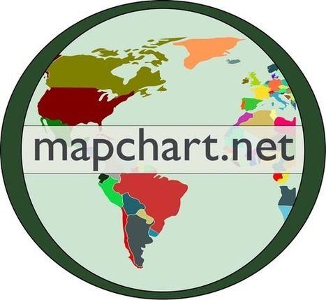 Créez votre propre carte personnalisée gratuite. | Histoire- Géographie- EMC | Scoop.it