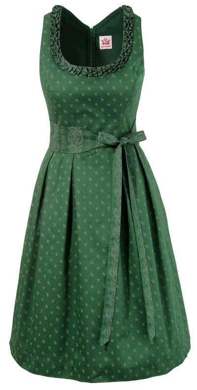 Spieth & Wensky Trachtenkleid Damen mit Streublumenprint