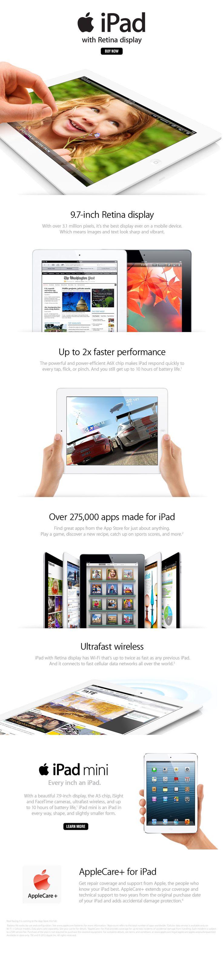 iPad.......miss mine since it crashed.  Looking forward to getting a new one.  =) @Christine Ballisty Kolek www.christinekolek.com #iPad #Apple #AppleProducts #Tablet #ChristineKolek