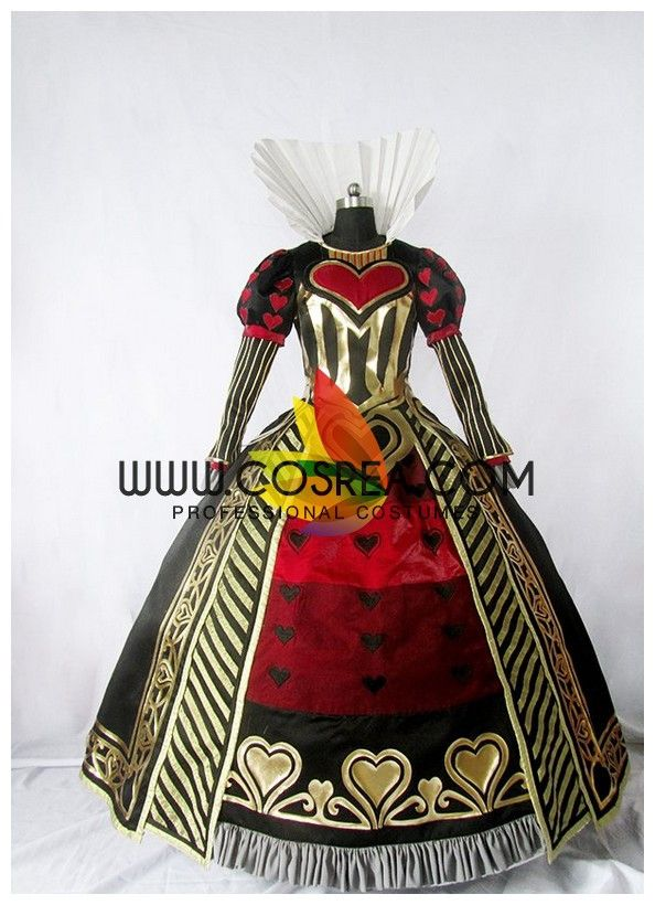 Alice Madness Returns Red Queen Cosplay Costume