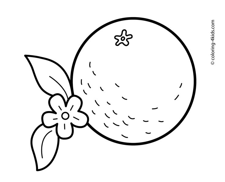 coloring pages orange - photo#22