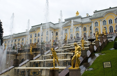 Summer Palace in St. Petersburg, Russia