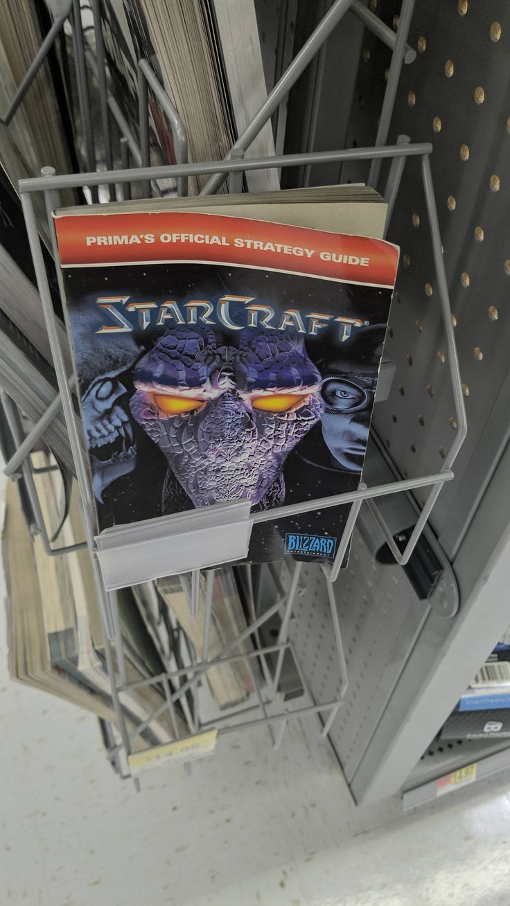 Did prima re release the original strategy guide for StarCraft remastered or did Walmart just find this laying around? Says copyright 1998 on back.