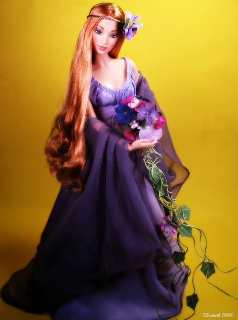 Goddess of Spring Barbie Doll Classical Goddess Collection 2000  ....../..24..5 qw