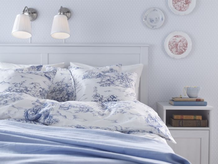 Timeless toile.  Bring the romance of the 19th century into your bedroom with an EMMIE LAND duvet.