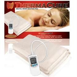 Warm, moist heat is one of the best things we can do for our fibromyalgia every day, much more effective than dry heat!  ThermaCure is a nice, large pad!