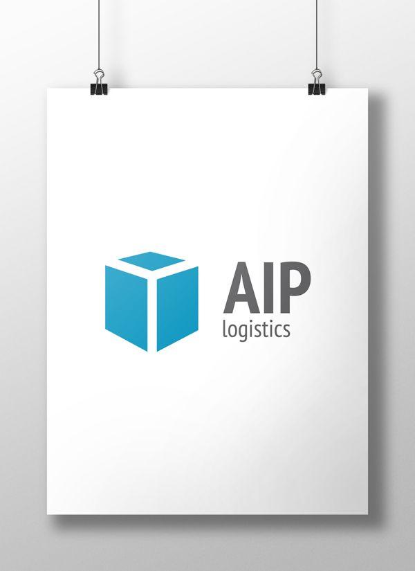 AIP Logistics Logo by Jurij Ternicki, via Behance