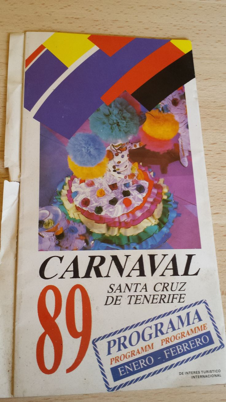 Carnaval de Santa Cruz de Tenerife, año 1989