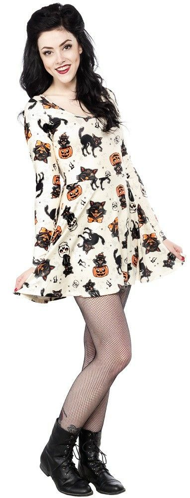 Sourpuss clothing cat dress