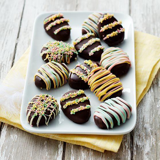 Påskeæg med kokos