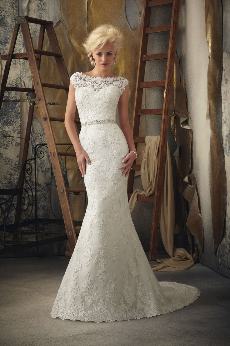 Fishtail Wedding Dress With Train : Fishtail wedding dress cathedral and dresses