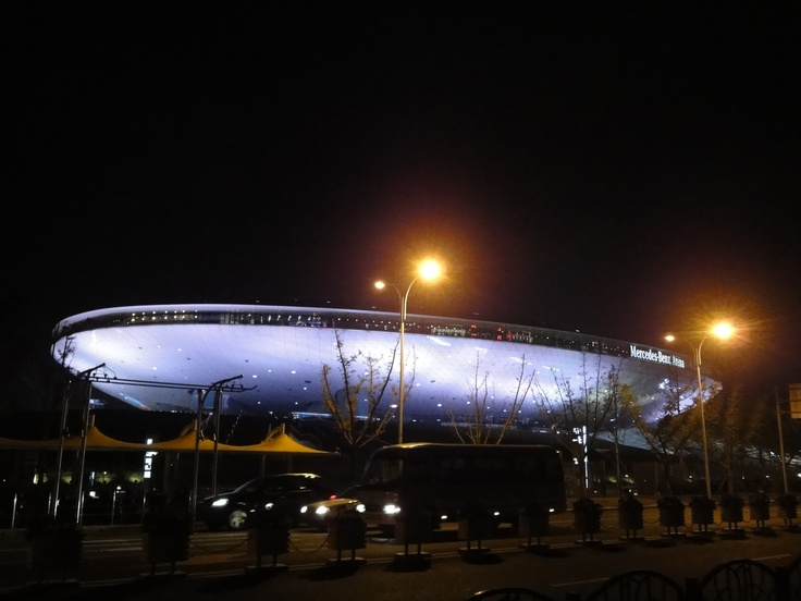 mercedes benz arena in shanghai china china travel pinterest shanghai voyage and china. Black Bedroom Furniture Sets. Home Design Ideas