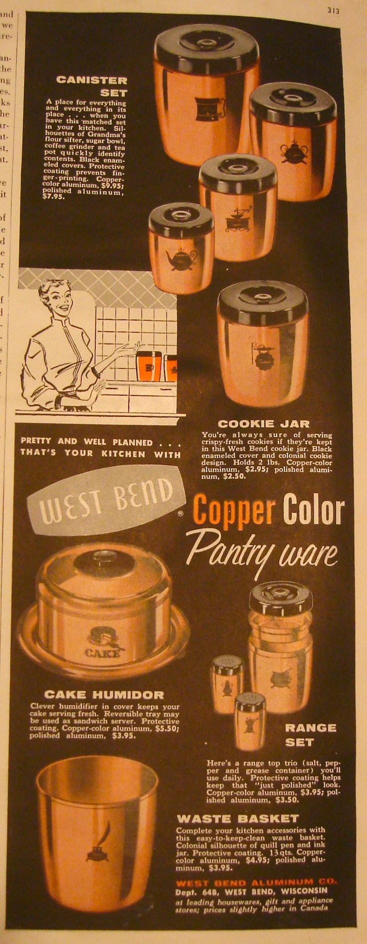 38 best west bend pantry ware images on pinterest pantry