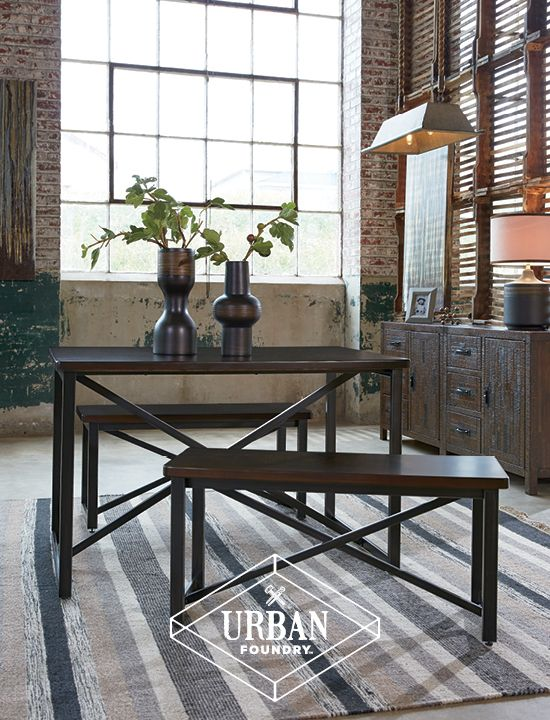 Urban Foundry™   Occasional Table Set   Urban, Wood Meets Metal, Eclectic  Home Furniture And Accessories