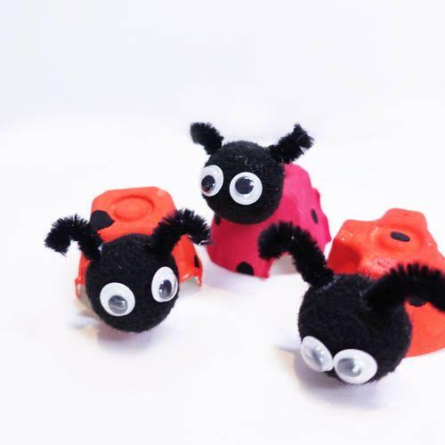 Super cute ladybugs #육아 #육아스타그램 #보블리 #유아미술 #홈스쿨 #엄마표 #엄마표놀이 #미술놀이 #무당벌레 #곤충 #bobbbly #kids #kidsart #homeschool #kidscraft #diy #cute #ladybug