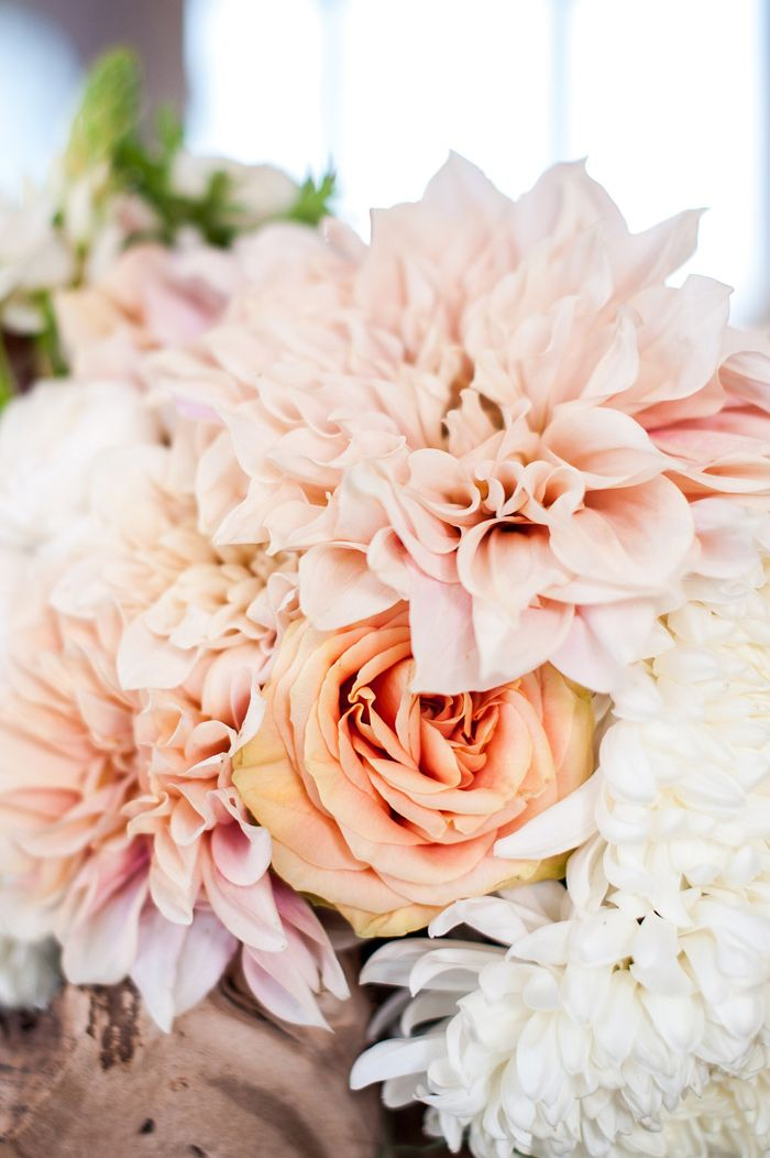 shades of blush bouquet