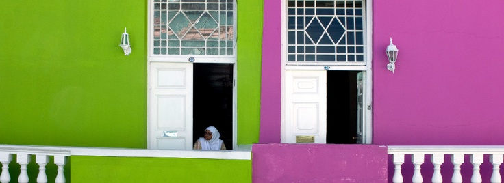 The Bo-Kaap in Cape Town