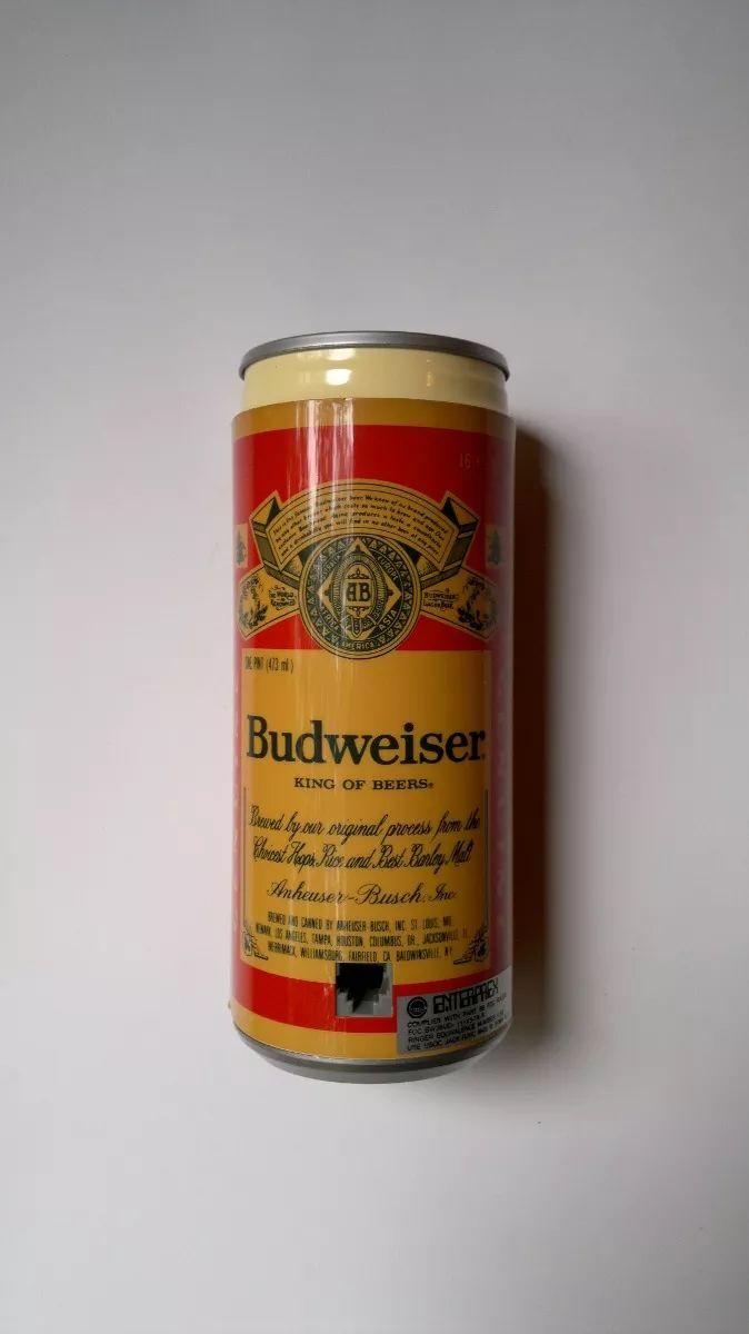 Teléfono Antiguo Vintage Años 80's - Lata Cerveza Budweiser - $ 550.00 en Mercado Libre