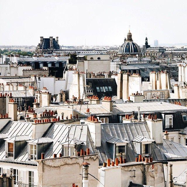 Les toits de Paris semblent similaires et pourtant, suivant la lumière et l'angle, la photo sera toujours différente et magnifique.
