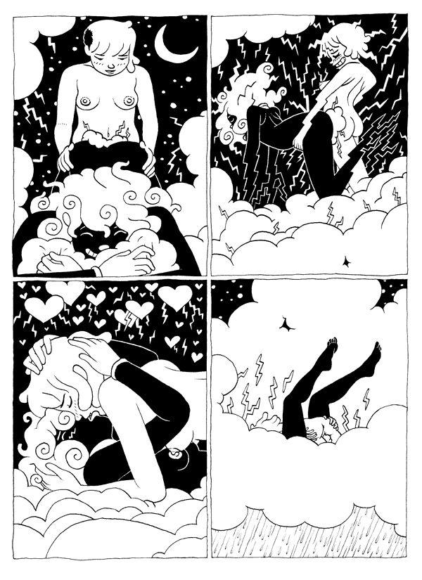 Erotic web comics
