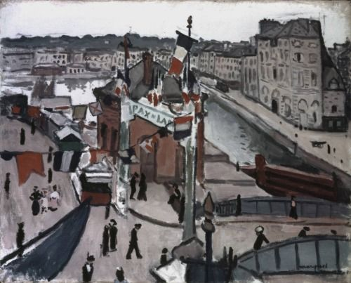 Albert Marquet (1875-1947) Fête populaire au Hâvre, 1906