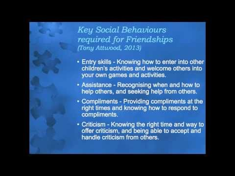 ▶ Developing Friendships:What skills do children with Autism need to make friends? - YouTube
