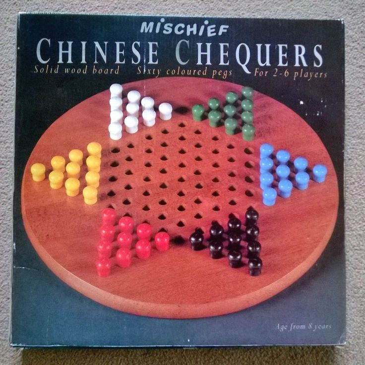 WOODEN CHINESE CHECKERS GAME IN GOOD CONDITION by MISCHIEF FROM JOHN LEWIS