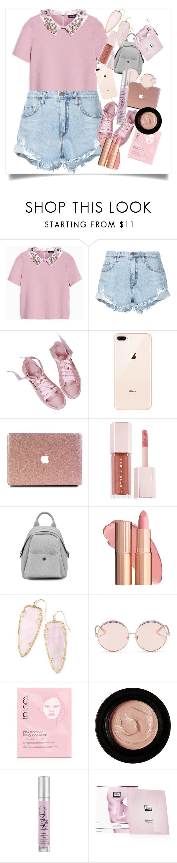 """""""It's Kind Of Fun To Do The Impossible♡"""" by summertime-sadness ❤ liked on Polyvore featuring Max&Co., Nobody Denim, Puma, Kendra Scott, N°21, Rodial, Edward Bess, Urban Decay and Erno Laszlo"""