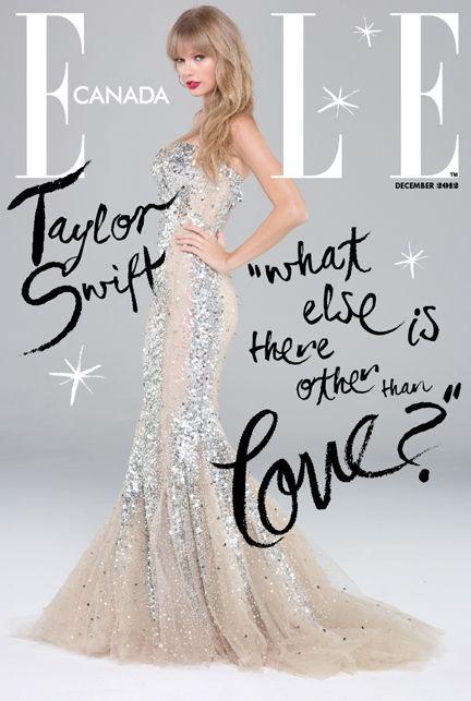 Taylor Swift Elle Canada