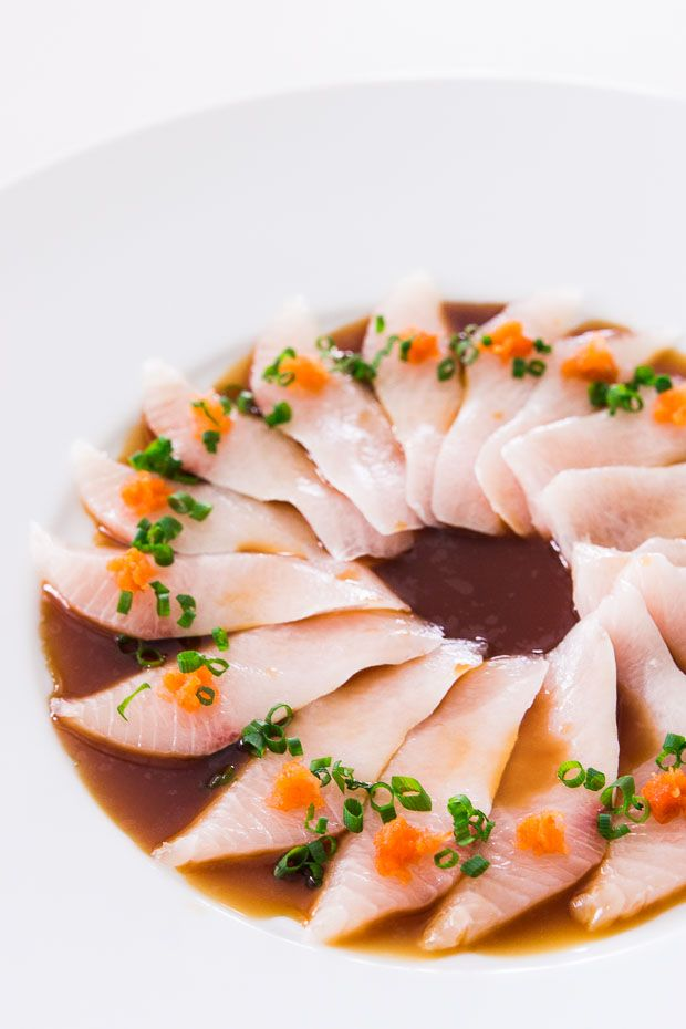 Kanpachi Sashimi with Spicy Ponzu | No Recipes