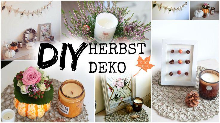 DIY HERBST DEKO IDEEN 2015 ❤ #helloautumn