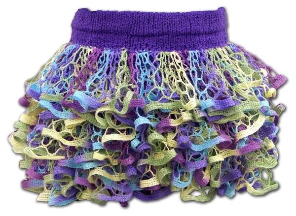 How to: Starbella Knit Ruffle Skirt #fashion #DIY #tutorial #fun #girl #lace