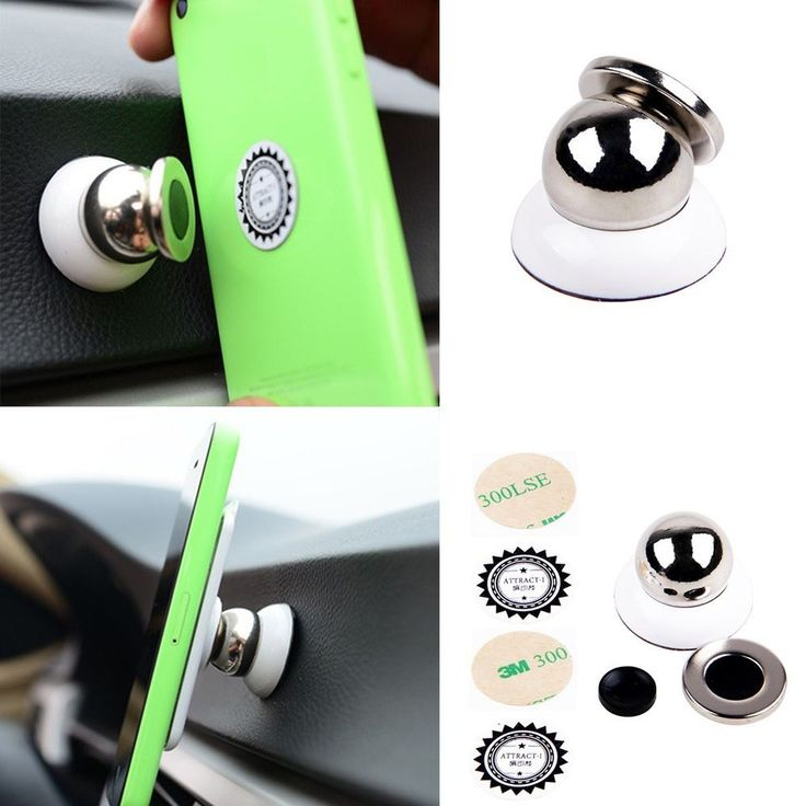Universal 360° Rotating Car Sticky Magnetic Stand Holder Mount For Cell Phone #UnbrandedGeneric