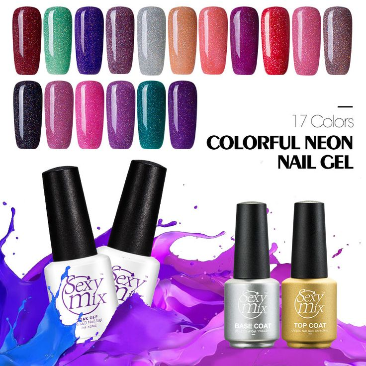 Sexy mix Colorful Neon UV Nail Gel Led UV Soak off Color Gel Nail Polish Glitter UV Gel Lacquer Professional Gel Nail Varnish #>=#>=#>=#>=#> Click on the pin to check out discount price, color, size, shipping, etc. Save and like it!