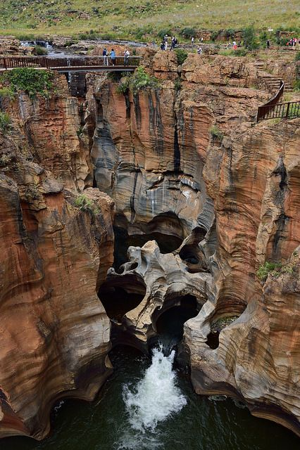 Bourke's Luck Potholes, Mpumalanga   by South African Tourism