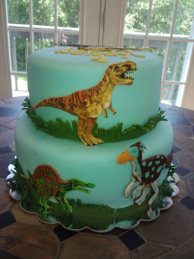 Dino Dan Cake