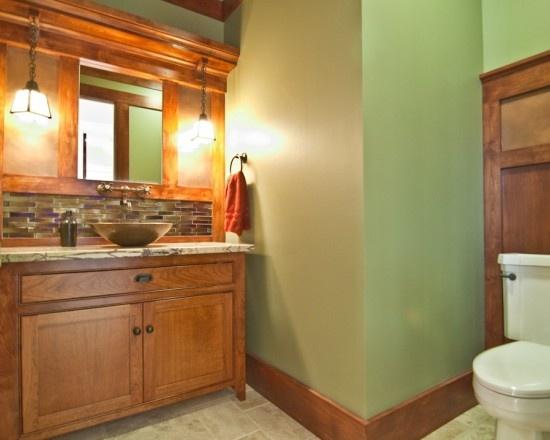 38 best green bathrooms images on pinterest bathroom for Bright green bathroom ideas