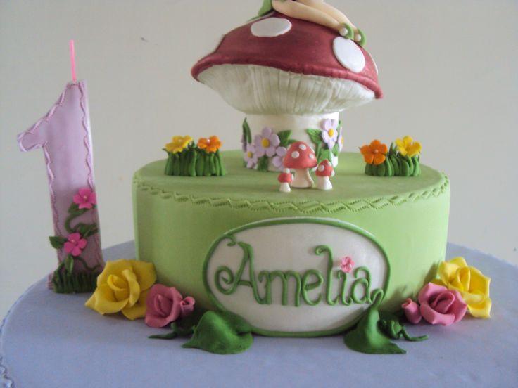 Torta temática: Tinkerbell | Tortas y modelado en pasta de goma ...