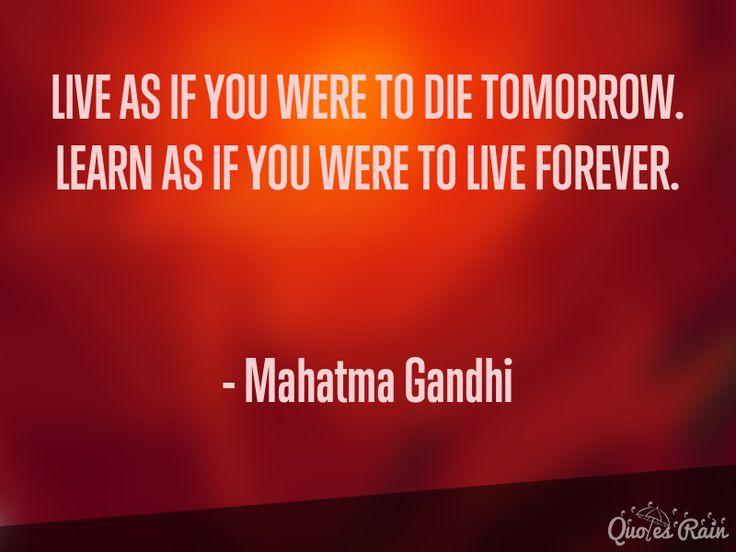 #MahatmaGandhiQuotes