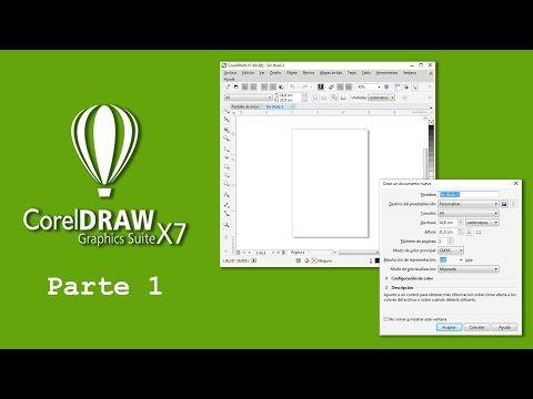 Corel DRAW X7 1 ) Introducción a CorelDRAW X7 - YouTube