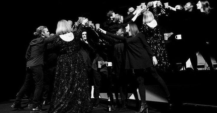 """Phoenix, AZ / Talking Stick Resort Arena / Nov 21"" - Adele on Instagram"