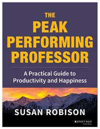 TAA member publishes new book on work-life balance | TAA member Susan Robison, a former professor of psychology and department chair at the Notre Dame of Maryland University, has published a new book, The Peak Performing Professor (Jossey-Bass, 2013). The book assists faculty in developing essential skills to enhance peak performance and experience more work-life balance.