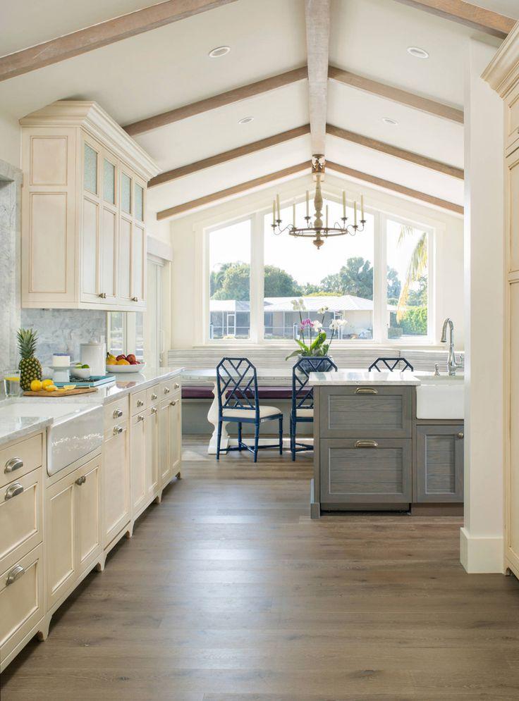 coastal kitchen by Studio80 Interior Design