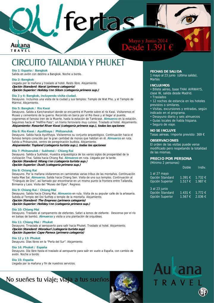 Circuito Tailandia y Phuket, mayo y junio, 15 días desde 1.391 eur ultimo minuto - http://zocotours.com/circuito-tailandia-y-phuket-mayo-y-junio-15-dias-desde-1-391-eur-ultimo-minuto/