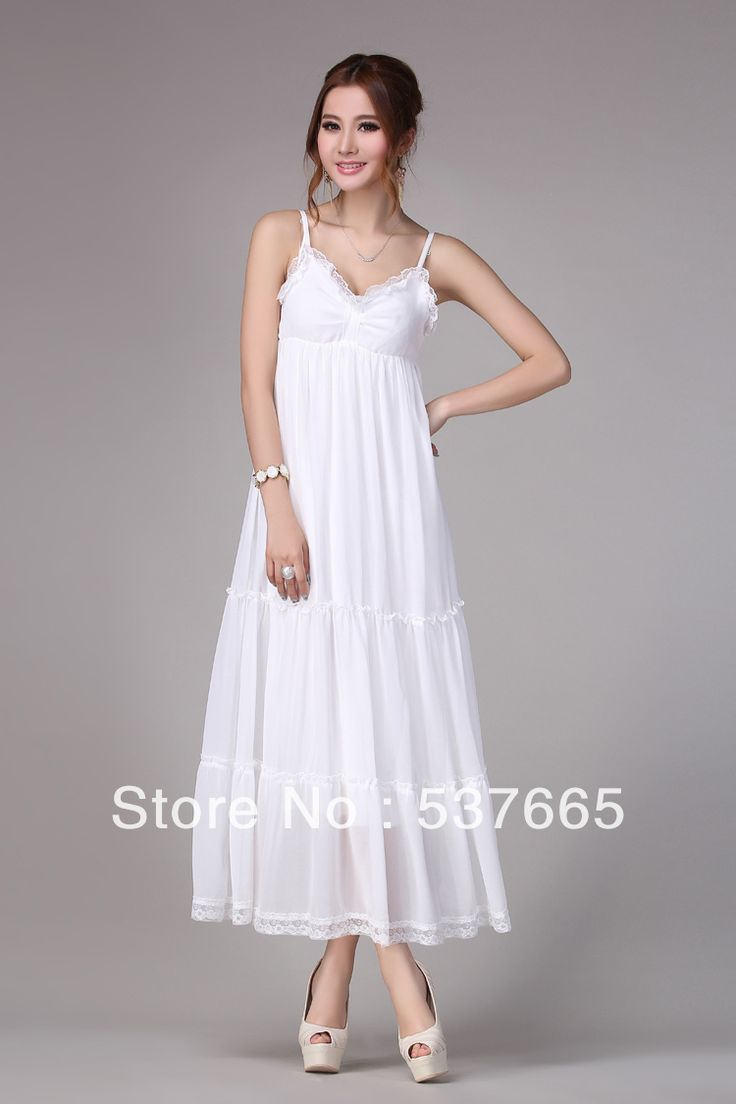 Cheap white summer maxi dresses
